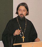 Протоиерей Максим Козлов, преподаватель МДА.