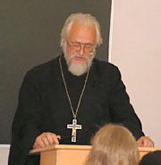 Протоиерей Владислав Цыпин, преподаватель МДА.