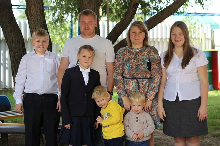 The Maksimov family.