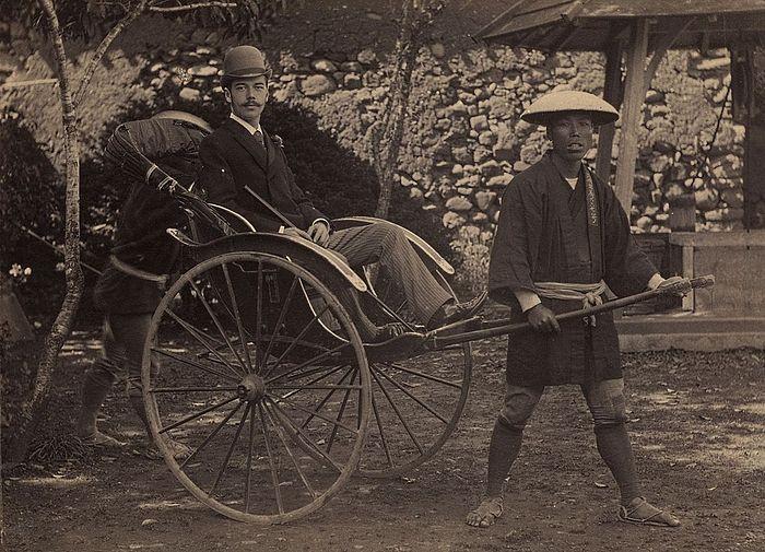Цесаревич Николай Александрович в Нагасаки, Япония