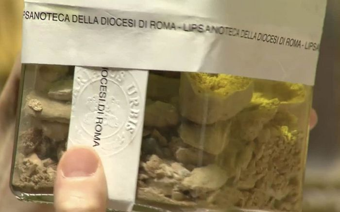 Relics thought to belong to St Peter's have been found by chance in a church in Rome. Photo: telegraph.co.uk