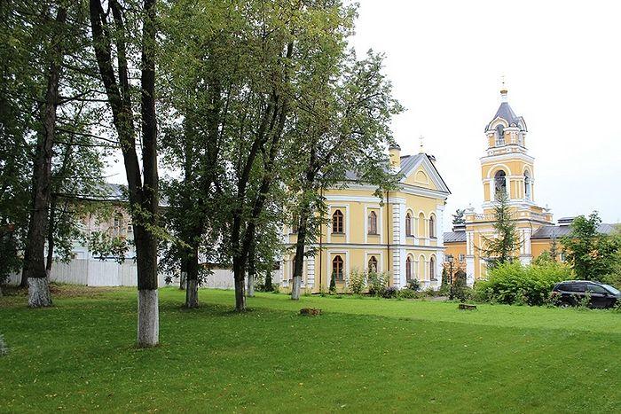 В Спасо-Вифанском монастыре