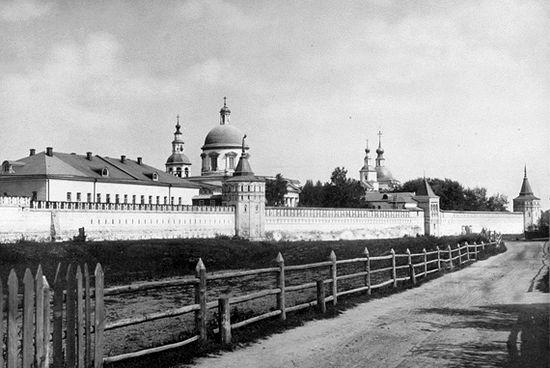 Данилов монастырь. Фото конца XIX века. Фото с сайта wikipedia.org