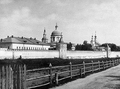Детская пересылка в московской обители