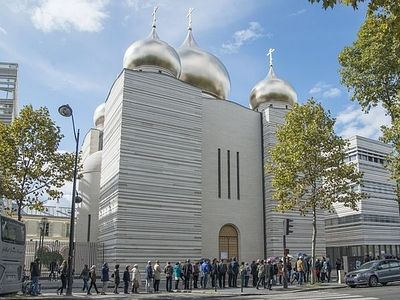Русский храм в Париже стал одним из открытий Дней национального достояния Франции
