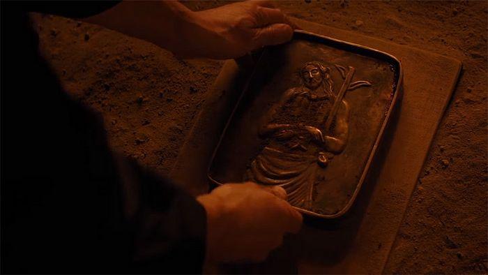 Кадр из фильма Мартина Скорсезе «Молчание». Эту икону Христа должен попрать ногами главный герой