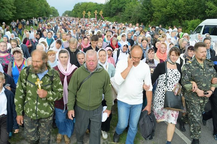 The All-Ukrainian procession of the cross. Photo by Sergey Ryzhkov.
