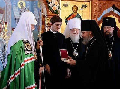 Слово после Литургии Успенском кафедральном соборе Новороссийска