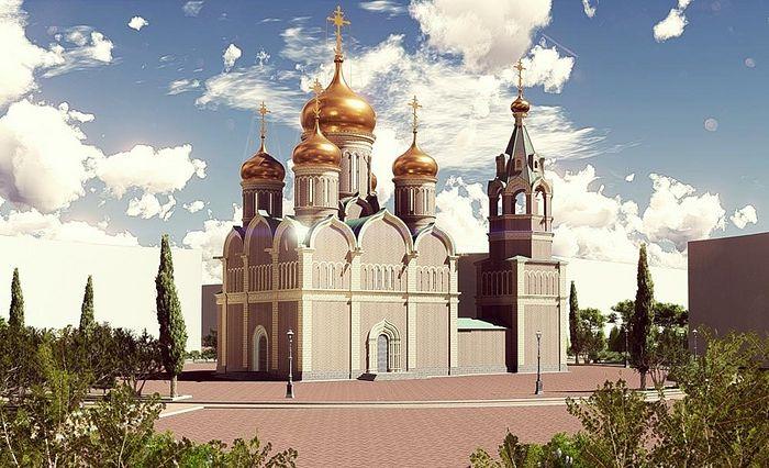 Пројекат руско-српског храма у градској грађевинској зони, Бања Лука