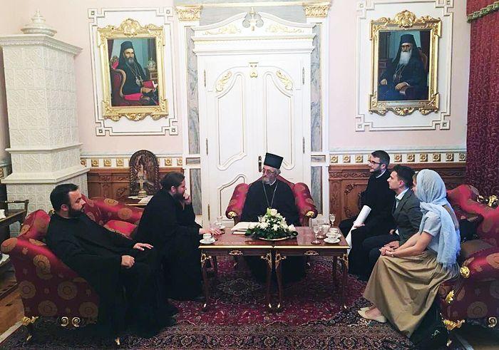 На састанку с Бањалучким епископом Јефремом