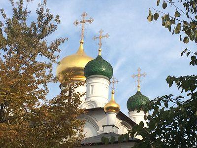 Божественная литургия в Сретенском монастыре в Неделю 16-ю по Пятидесятнице