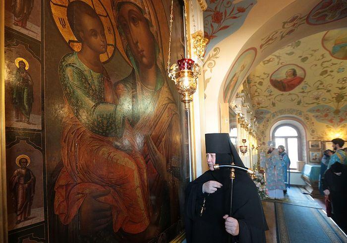 Икона Божией Матери «Иерусалимская». Фотограф: Владимир Ходаков//monasterium.ru