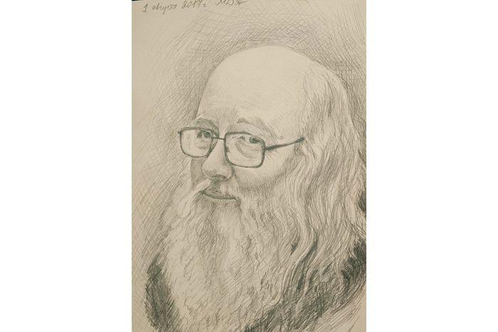 Портрет протоиерея Владимира Волгина