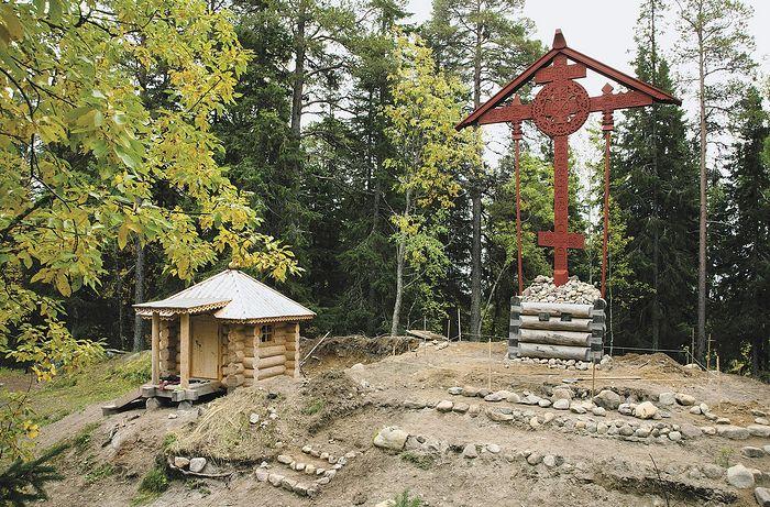 Крест на Секирной горе. Фото Сергей Веретенников