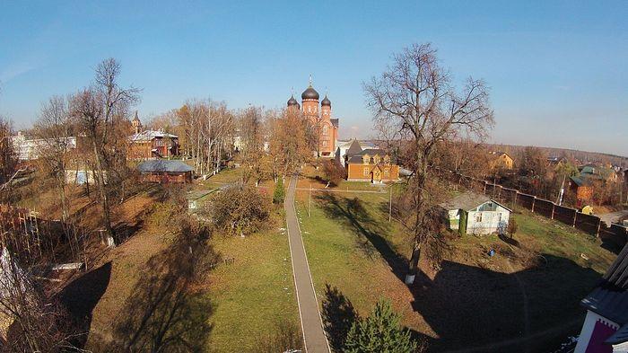 Вид на монастырь. Фотограф: Владимир Ходаков