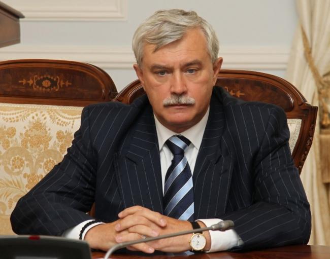 Георгий Полтавченко. Фото: gov.spb.ru