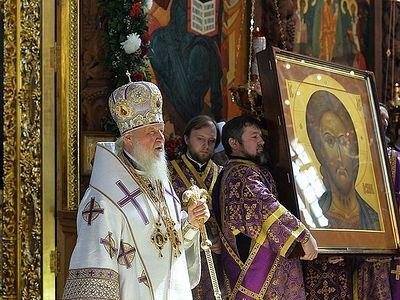 Слово после Литургии в Успенском кафедральном соборе Астраханского кремля