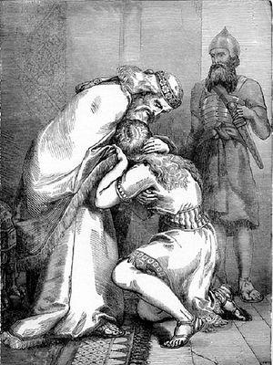 Давид прощает Авессалома