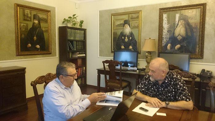 Петр Сарандинаки и Анатолий Степанов