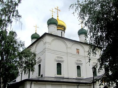 Божественная литургия в Неделю 17-ю по Пятидесятнице в Сретенском монастыре