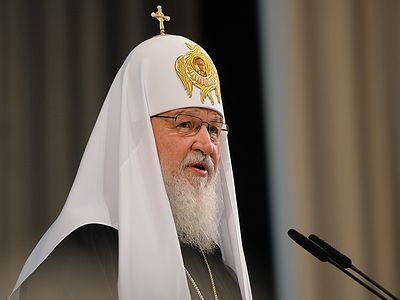Патриарх Кирилл: Во многих странах грех поддерживается государственными законами