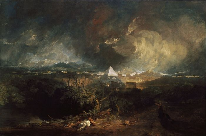 J. M. W. Turner. The Fifth Plague of Egypt. Photo: Wikipedia