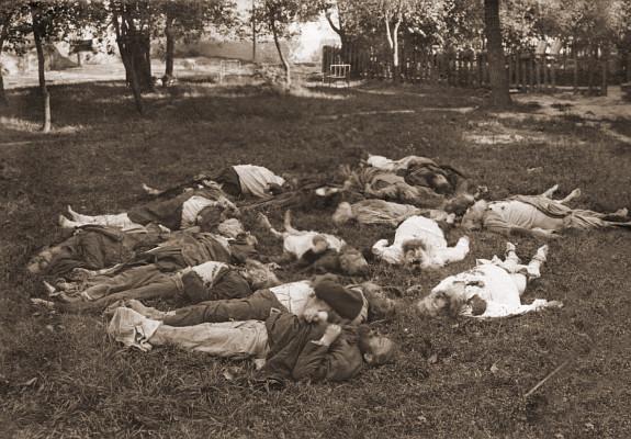 Монахи Мгарского монастыря, убитые большевиками 6 / 19 августа 1919 г.