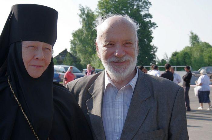 С матушкой Евстолией (Афониной)