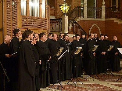 Концерт церковной византийской музыки в Соборной палате