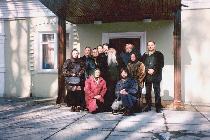 Редакция журнала у отца Кирилла Павлова