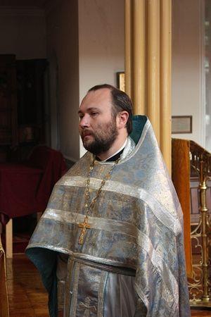 Rector of the Patriarchal Representation Church of the Holy Apostles Peter and Paul in Dublin Fr. Michael Nasonov. Photo by Karta.patriarchia.ru.