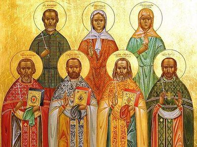 Судьбы одиннадцати священнослужителей и прихожан одного храма