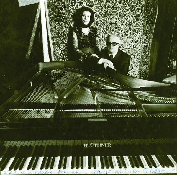 Елена Образцова и Георгий Свиридов