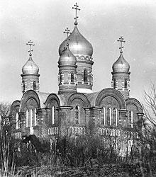 Крестовоздвиженский Иерусалимский Монастырь. Собор.