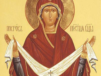 Всенощное бдение в Сретенском монастыре накануне Покрова Пресвятой Богородицы