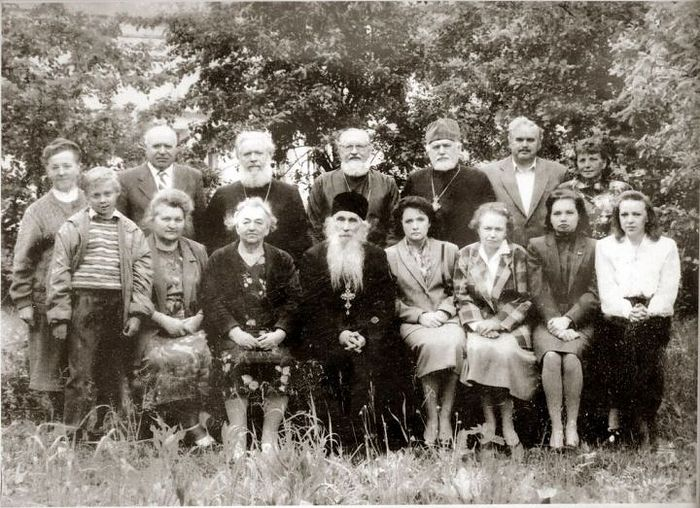 Встреча выпускников Московской духовной семинарии. 1980-е гг.