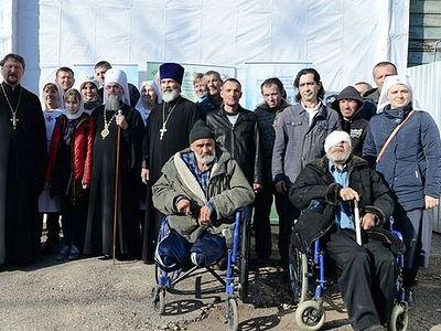 В Уфе после ремонта открылся церковный приют для бездомных