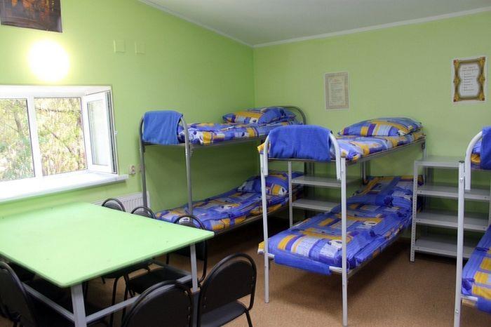 В отремонтированном помещении смогут проживать 18 человек, в целом же приют рассчитан на 40 бездомных
