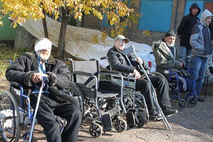 В приют принимают всех без ограничения, в том числе людей с инвалидностью