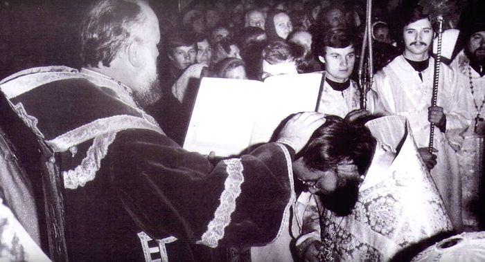 Возведение в сан игумена. 1971 г.