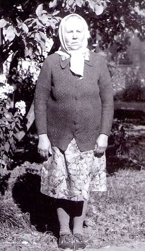Мама – Евдокия Ильинична