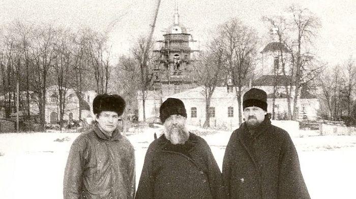 Строительство Крестовоздвиженского храма в Алтуфьево