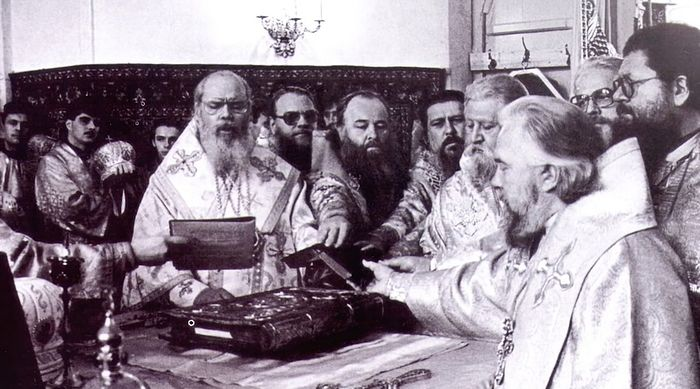 Хиротония в епископа. 25 октября 1992 г