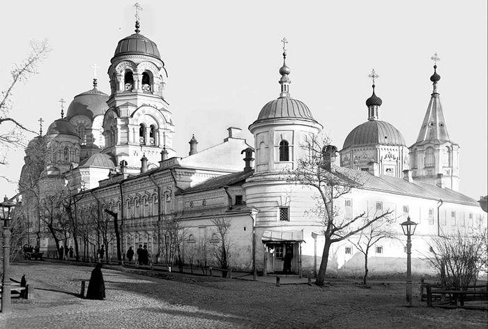 Исторический вид Крестовоздвиженского храма