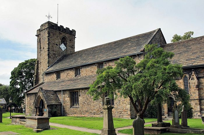 Church of St. Mary and All Saints in Whalley, Lancs