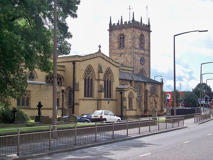 Dewsbury Minster, West Yorkshire