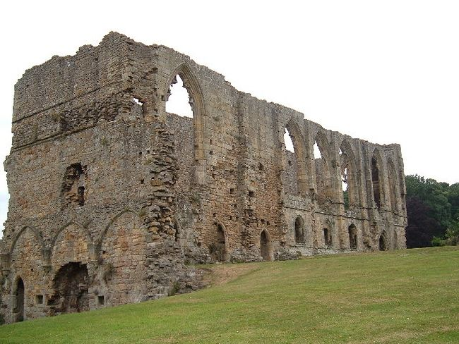 Easby Abbey ruins