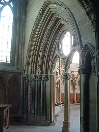 Entrance to Southwell Minster's chapter house