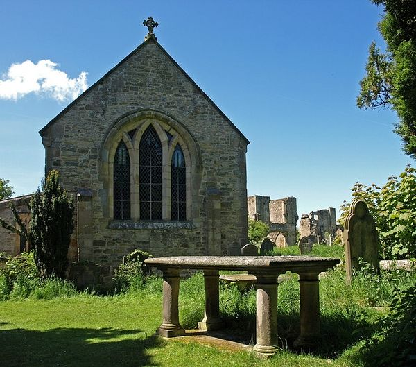 St. Agatha's Church in Easby, North Yorkshire (source - Geograph.org.uk)