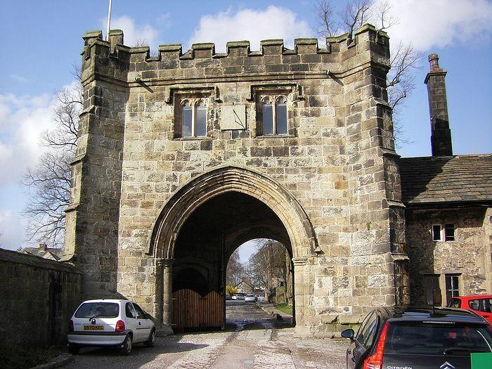 Whalley Monastery gatehouse, Lancs